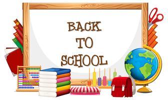 Whiteboard und zurück zur Schule