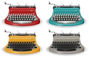 Schreibmaschine vektor