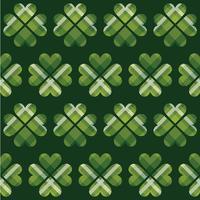 St Patrick's Day tartan sömlösa mönster. vektor