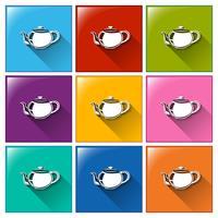 Tee-Symbole vektor