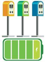 Batteriladdare för elbil