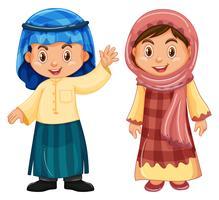 Pojke och tjej från Irag