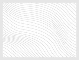 schwarze abstrakte Linien mit Verzerrungseffekt. optische Täuschung. vektor