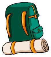 Eine Reisetasche