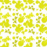 Nahtloses Hintergrunddesign mit gelbem Spritzen vektor