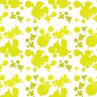 Seamless bakgrundsdesign med gult stänk