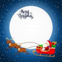 Frohe Weihnachten Karte Konzept vektor