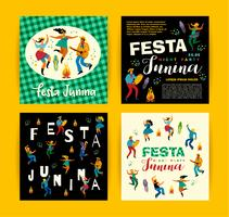Festa Junina Vektor-Vorlagen