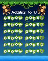 Eine mathematische Arbeitsblattergänzung zu 10