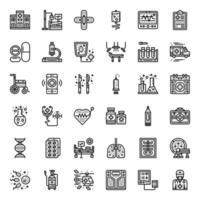 Gesundheitswesen und medizinisches Symbol vektor