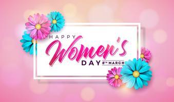 Frauen-Tagesgruß-Karte