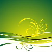grüner vektorhintergrund vektor