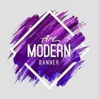 Moderne Kunst Banner