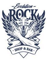 Rock Emblem Vektorgrafiken