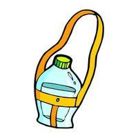 Trinkflasche Cartoon Illustration vektor