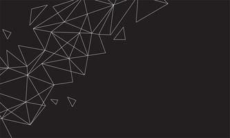 Abstrakt polygonal färgstark bakgrund med anslutna prickar och linjer, anslutningsstruktur, futuristisk hudbakgrund, högkvalitativ bild med suddiga delar
