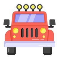 Jeep und Transport vektor