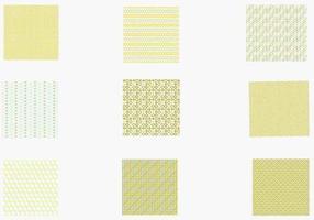 Funky Retro Vector Pattern Pack Zwei