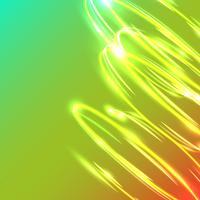 Neon suddiga cirklar på en blå bakgrund, vektor illustration.