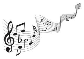 Klassisk musikvektorpaket vektor
