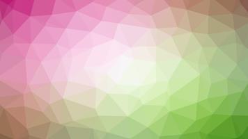 Buntes polygonales Verbindungsdesign mit, niedriger Polyvektorillustration