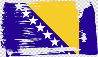 Realistische Flagge, Vektor-Illustration