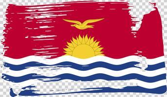 Realistisk flagga, vektor illustration