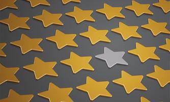 Illustration med stjärnor för BREXIT - Storbritannien lämnar EU, vektor
