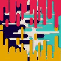 Überlagerter abstrakter Hintergrund, Vektor