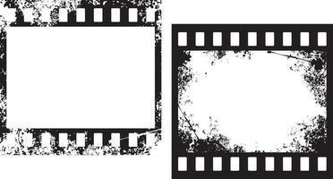Grunge Filmstreifen Rahmen vektor