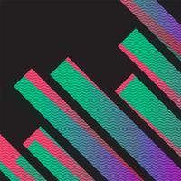 Färgrik neon abstrakt bakgrund, vektor