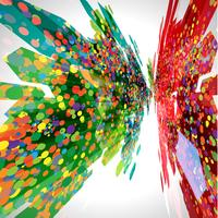 Abstrakt ackground med mönster, vektor