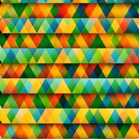 Abstrakte bunte Dreiecke, Vektor