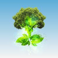 Grüne Welt, Vektor