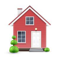 Realistisches Haus, Vektor