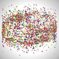 Färgglada prickar, vektor