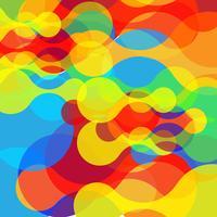 Abstrakte bunte Formen, Vektor
