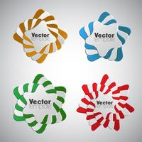 Abstrakte infographic Elemente, Vektor