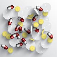 Medicinsk vektor piller