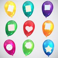 Abbildung für Geburtstag oder irgendeine Feier, Vektor