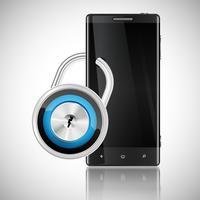 Telefonsicherheitsabbildung, Vektor