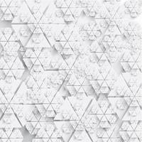 Abstrakte Papierschneeflockenvektorabbildung