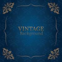 Vintage Hintergrund Ornament vektor