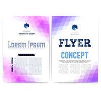 Abstrakt vektor mall design, broschyr, webbplatser, sida