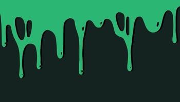 grüne Farbe Halloween-Kunsthintergrund design.blood Tropfen. vektor
