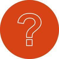Vektor Question mark icon