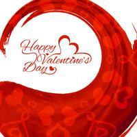 Modern Glad Alla hjärtans dag bakgrund
