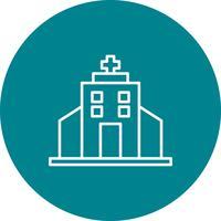 Vektor Krankenhaus Symbol