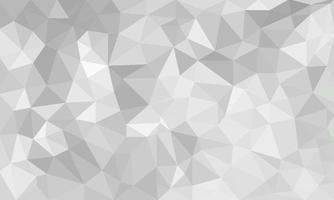 abstrakter grauer Hintergrund, Low-Poly-strukturierte Dreiecksformen vektor