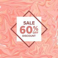 Verkaufs-Fahnen-Marmor auf Hintergrund vektor